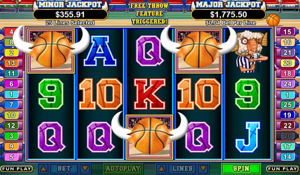basketbull feature triggered Try BasketBull Video Slot Game