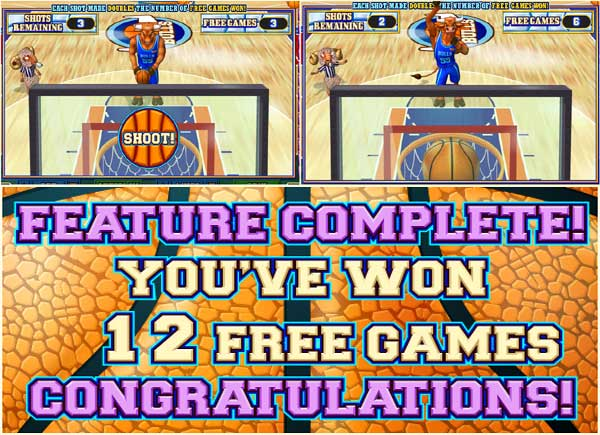 basketbull free throw feature Try BasketBull Video Slot Game